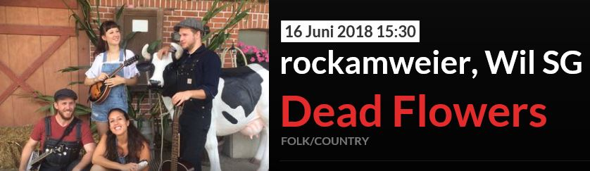 2018-06Startrampe at rockamweier Openair - dead flowers - live