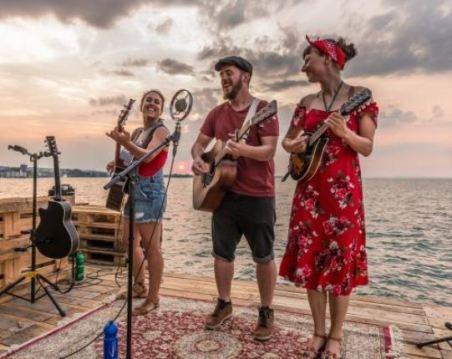 Dead Flowers-Trio-Strandfest-Rorschach-Cyrill Schlauri